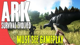 ARK: Survival Evolved Gameplay Reveal Trailer - AMAZING SURVIVAL GAME!