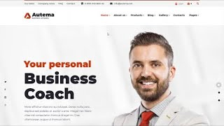 Business Coach WordPress Theme Review 2020 by Autema