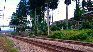 只見線 プロレス列車 返却回送