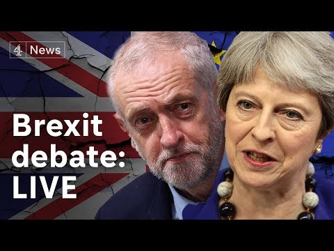 Brexit debate LIVE: MPs discuss the shape of Brexit