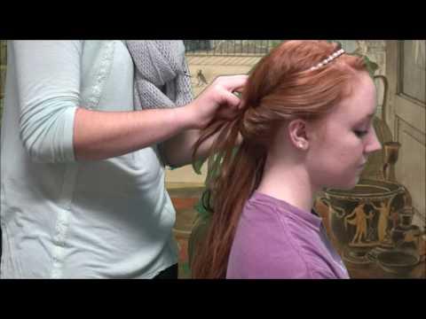 Ancient Greek Hairstyles Tutorial YouTube - Diy greek hairstyle