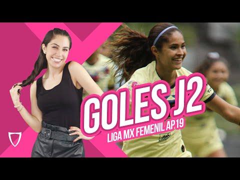 ¡AMÉRICA GANA A CRUZ AZUL! - GOLES Jornada 2 Liga FEMENIL MX Resumen / ClauSURA 2020  Futbol Ene 14