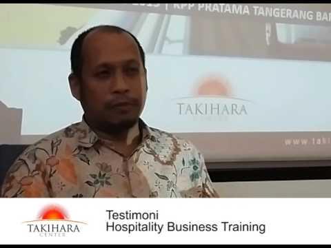 Testimoni Hospitality Business KPP Pratama Tangerang Barat - 2 takiharacenter.com