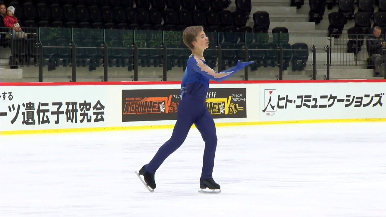 isu 2014 jr grand prix tallinn men free skate daniel albert naurits fra youtube. Black Bedroom Furniture Sets. Home Design Ideas