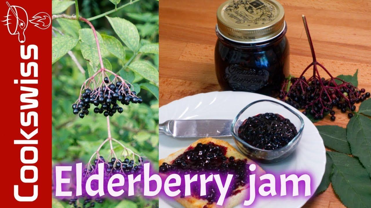 Elderberry Jam - jam recipes (elderberry recipes) - YouTube