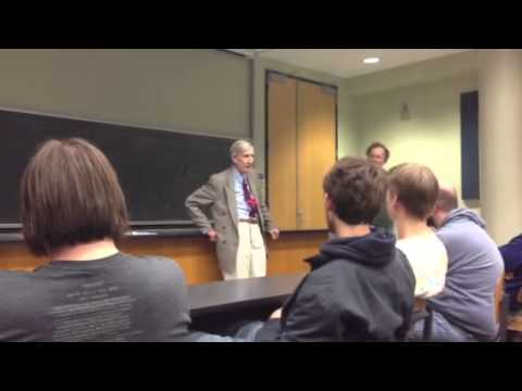 Freeman Dyson on the conspiracy of nature against unificati