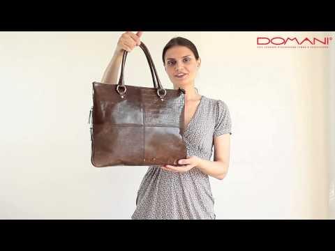 Женская сумка Gillian/ Итальянские сумки в интернет-магазине Domani/ Обзоры сумок