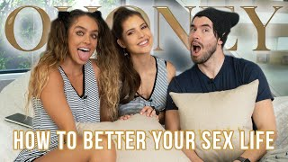 German Garmendia Tells Us How To Better Our Sex Lives | OHoney w/ Amanda Cerny & Sommer Ray