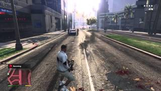 Grand Theft Auto V game play
