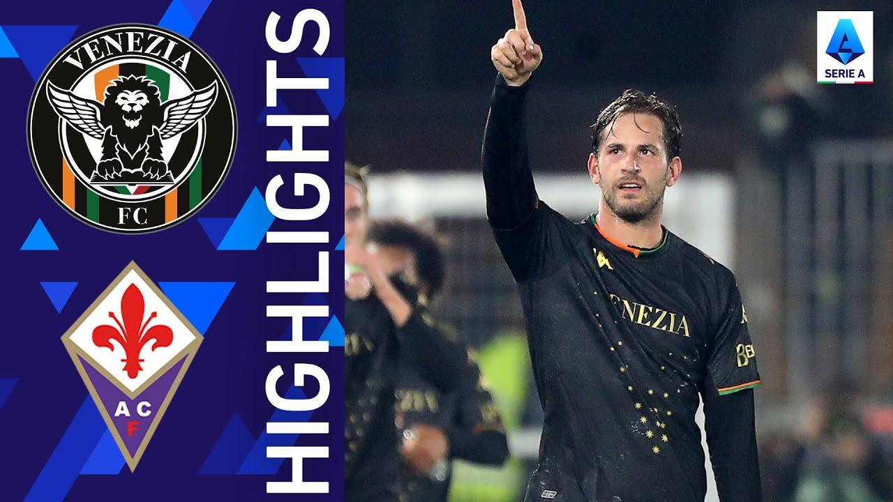 Venezia 1-0 Fiorentina   First home victory for Venezia!   Serie A 2021/22