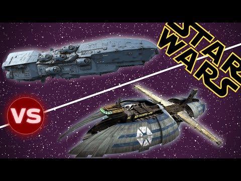 Dreadnaught Heavy Cruiser vs Munificent Class Light Frigate | Star Wars: Who Would Win