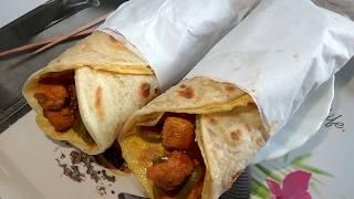 Chicken Roll Recipe in Hindi | Homemade Chicken Paratha Roll Recipe