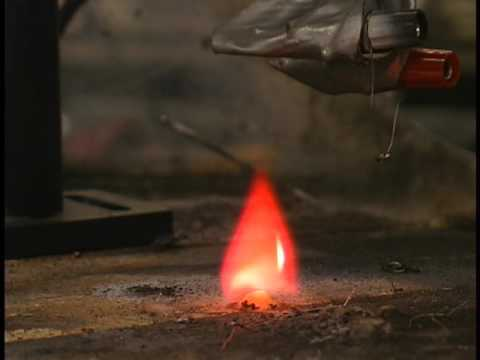 C4 deflagrating