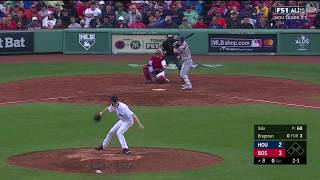 Alex Bregman Game-Tying Solo Homerun vs Red Sox | Astros vs Red Sox Game 4 ALDS