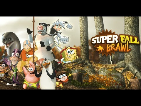 Cartoon Fall Wallpaper Spongebob Super Fall Brawl Spongebob Lose Youtube