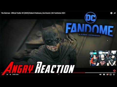 The Batman Trailer #2   DC FanDome 2021 - Angry Trailer Reaction!