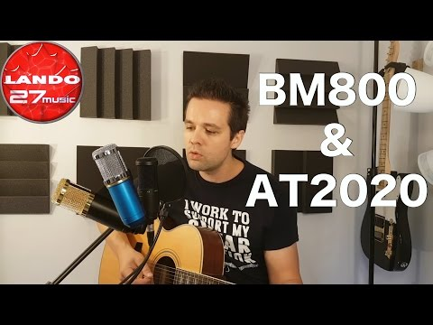 BM 800 Condenser Mic vs Audio Technica AT2020