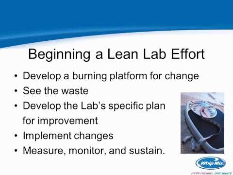 Sustaining Your Process Improvement Using Lean Manufacturing