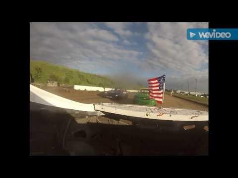 Genesee Speedway Mini stock heat 5/27/17