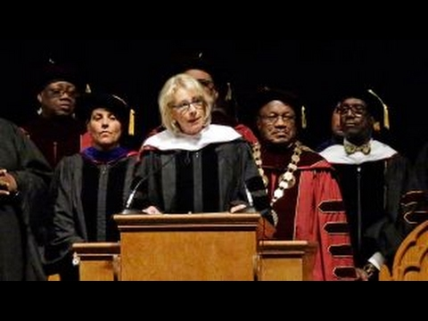 Betsy DeVos booed at commencement