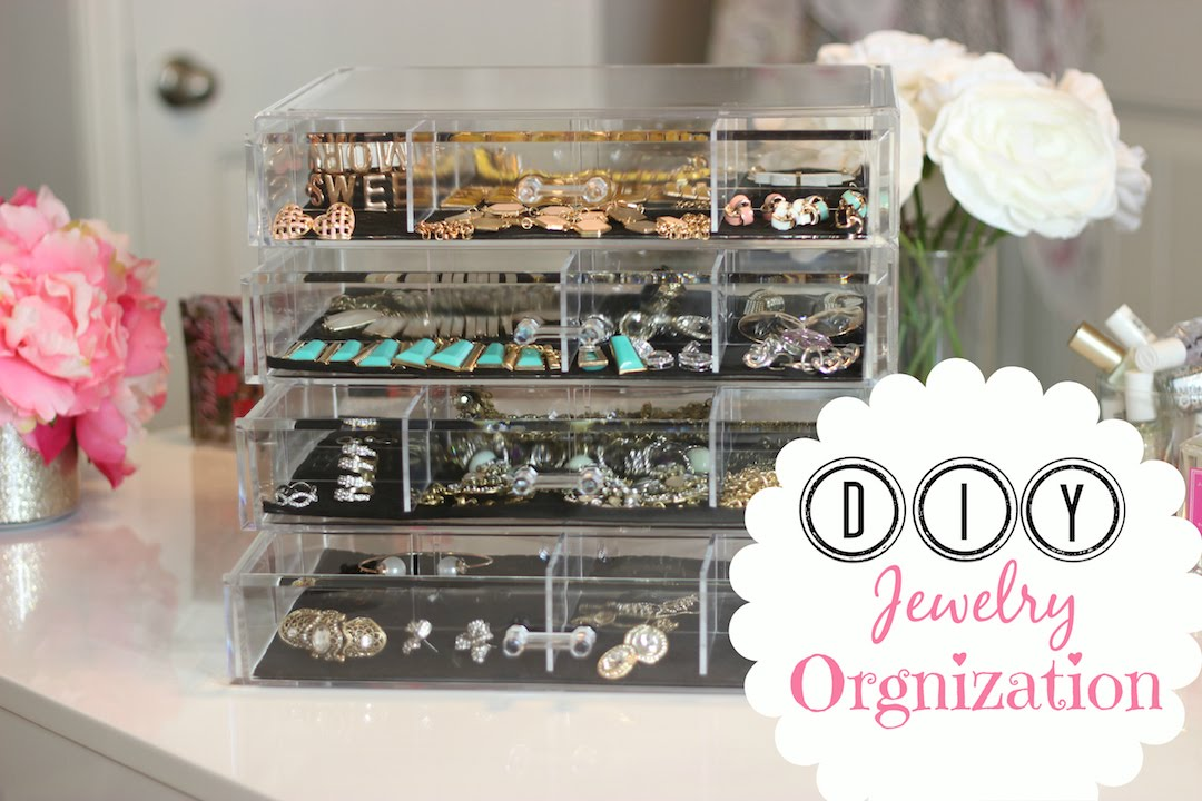 Jewelry Organization Tips  Taking Care of Costume Jewelry  MissLizHeart  YouTube