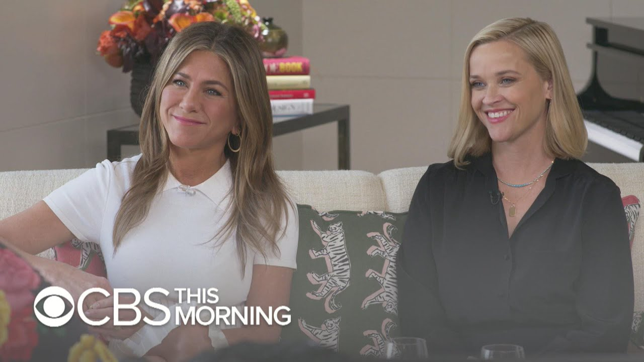 """Download Jennifer Aniston and Reese Witherspoon on """"The Morning Show's"""" message to men: """"Check yourself at…"""