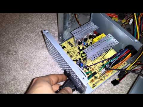 PC Power supply without EMI filtering