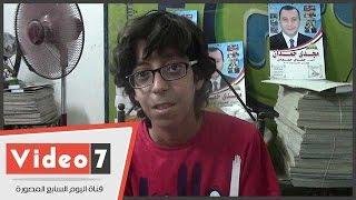 طفل يطالب وزير الشباب بإنشاء مركز شباب بالوراق