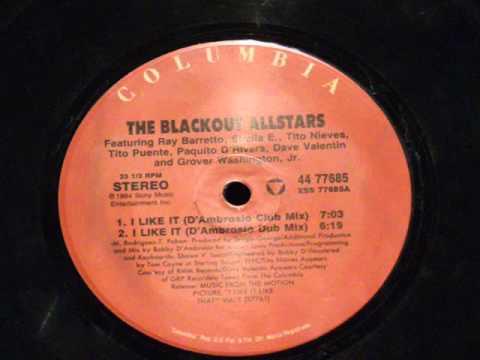 I like it like that (d'ambrosio club mix) - The Blackout allstar - 1994