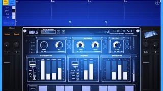 Korg Gadget, Lets Compose with Helsinki, Demo for iPad