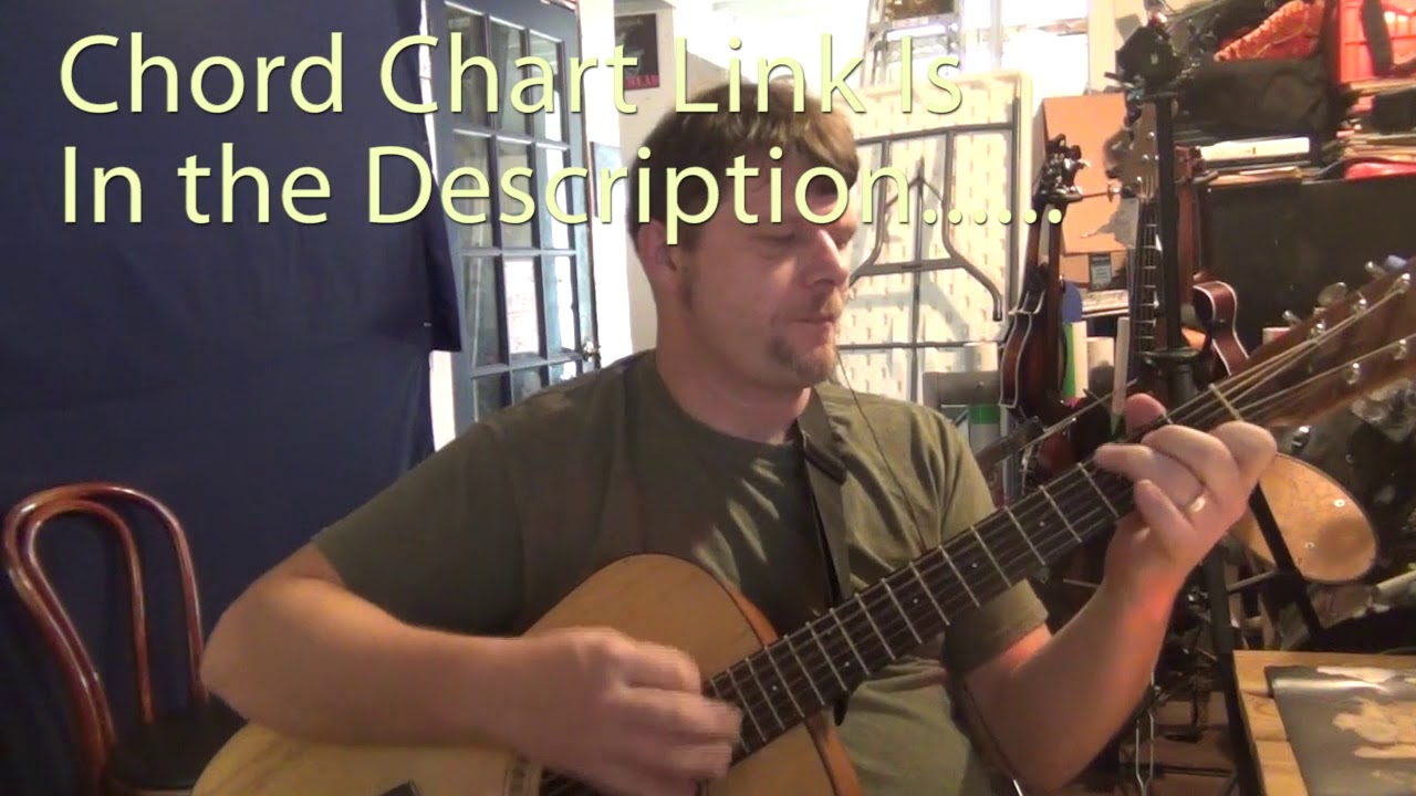 Cant You See Marshall Tucker Guitar Chord Chart Youtube