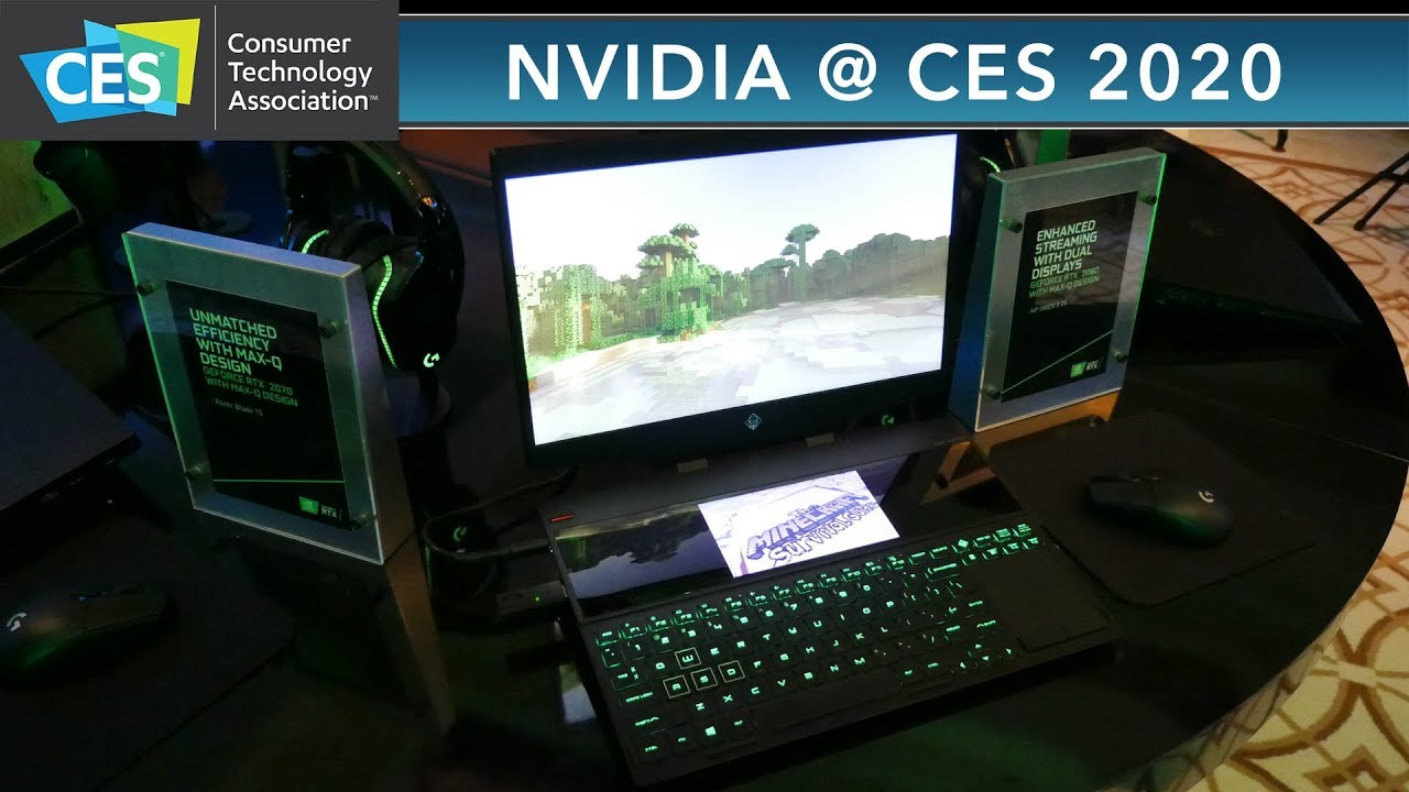 CES 2020: NVIDIA Turing Laptops - ASUS 360hz Gaming Monitor !