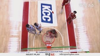 Goyang Orions Dunks | Orions vs Sonicboom | 20161027 | 2016-17 KBL