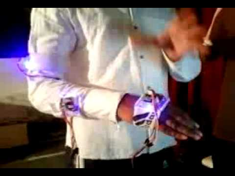 Motion Operated Robotic Arm( Motion sensing)