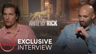 WHITE BOY RICK Interviews (Matthew McConaughey, Richie Merritt) | AMC Theatres (2018)