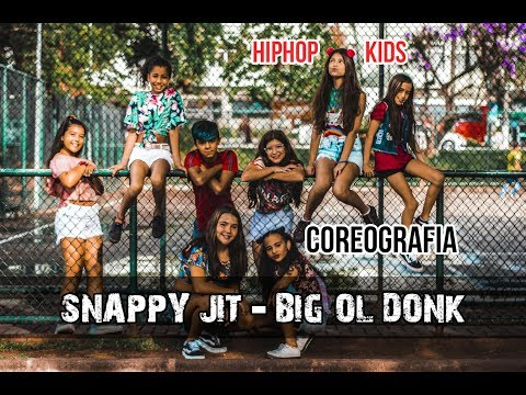 Snappy Jit - Big Ol Donk  Coreografia Gibson Moraes INFANTIL