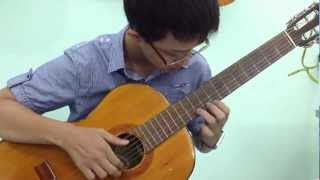 Tombe La Neige - Classical Guitar