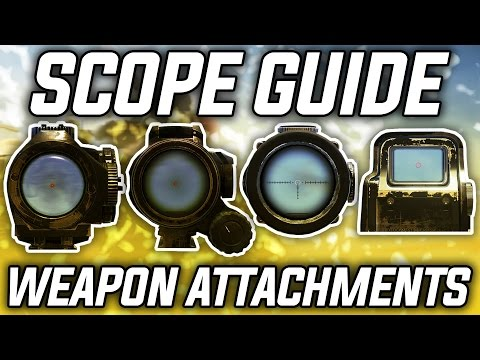 SCOPE GUIDE | Ghost Recon: Wildlands Weapon Attachments! (Best Sights/Optics)