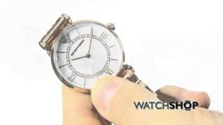 emporio armani ladies watch ar1909