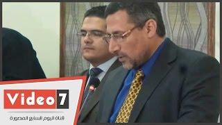 بالفيديو..وكيل الأزهر ورئيس الجامعة يفتتحان أول قاعة مؤتمرات فى كلية الصيدلة