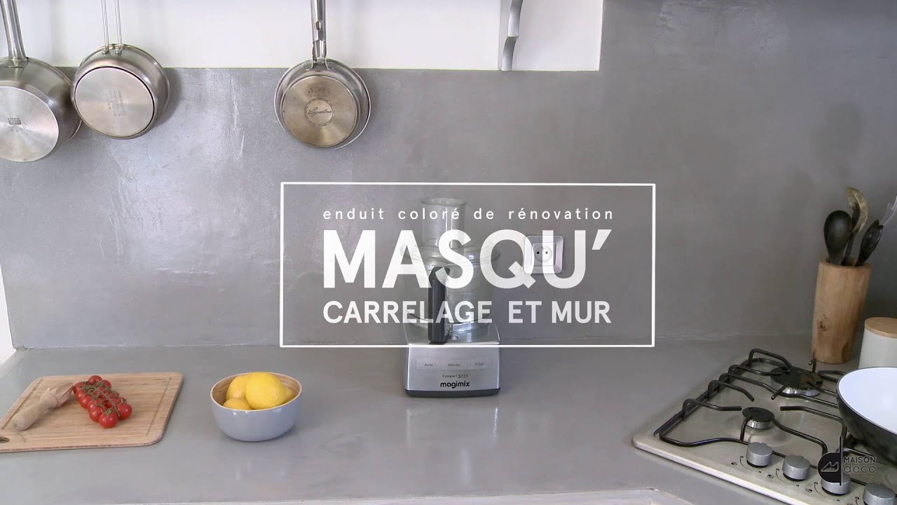 Masqu 39 carrelage et mur maison deco 2016 hd youtube for Renover carrelage mural