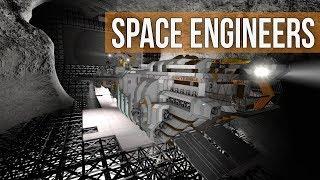 Space Engineers - Bunker Building (Modded Survival Coop) Ep 29