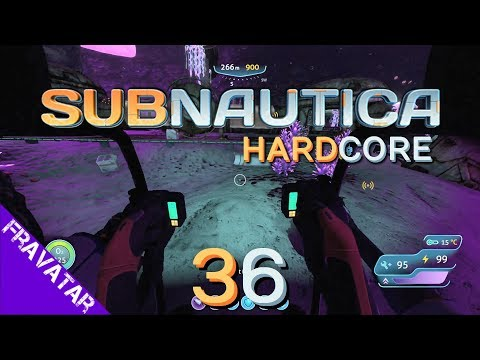 Subnautica ep36 - Drill Arm Mining in Gellyshroom Cave for Magnetite - Gameplay