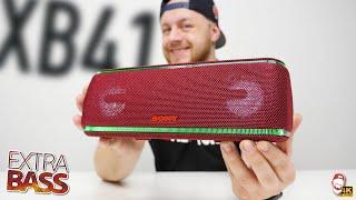 ???? Tohle už je moc! Bluetooth reproduktor Sony SRS-XB41 s funkcí Extra Bass | WRTECH [4K]