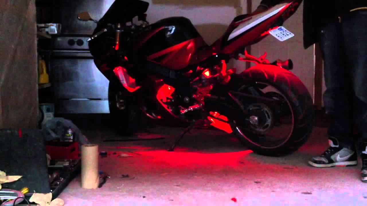 03 Gsxr 1000 Under Glow Youtube
