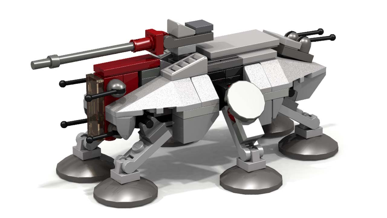 Lego at-te instructions 75019, star wars episode 2.
