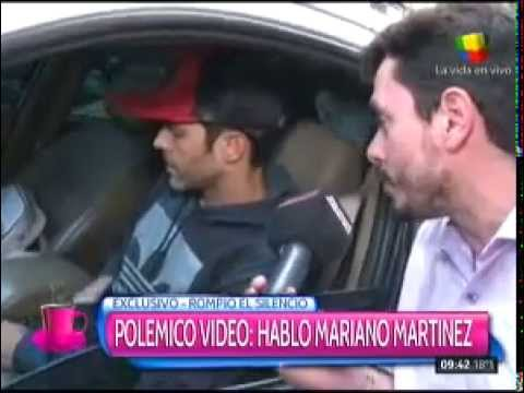 Mariano Martínez habló del video del beso con Lali Espósito