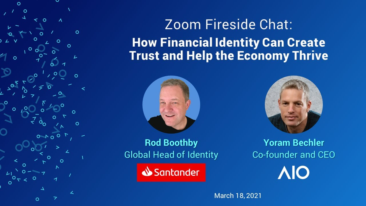 How can financial identity create trust and help the economy thrive?