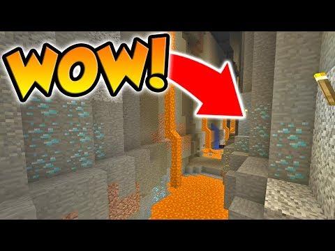 WE FOUND A HUGE RAVINE! (Minecraft Buried Alive #6)