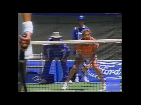 FULL VERSION Seles vs Fernandez Australian Open 1992